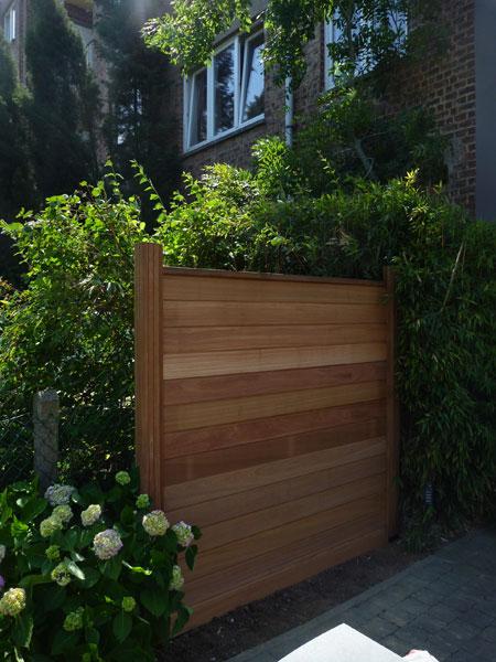 R alisations de cl tures de jardin par l leroy for Entrepreneur jardin