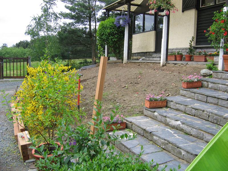 La terrasse en bois  Aménagement extérieur de Laurent Leroy