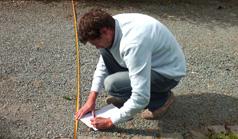 mesurage et avant-projet paysagiste
