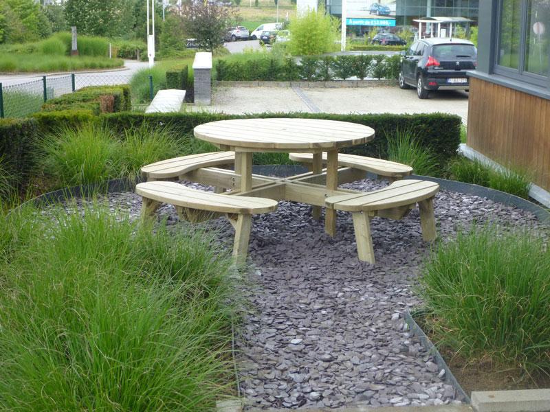 Banc en bois laurent leroy architecte paysagiste et for Auto entrepreneur entretien de jardin