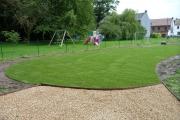 Mise en place d'une pelouse